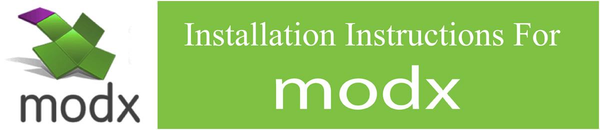 InstallationModx