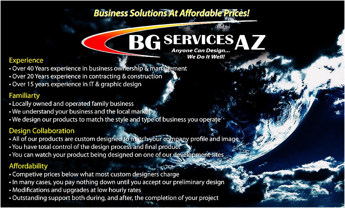 BG Services AZ Experience