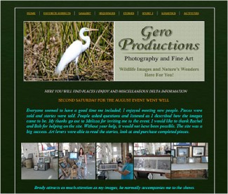 Gero Productions DIY Website