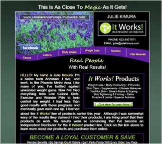 Personal Portal Page