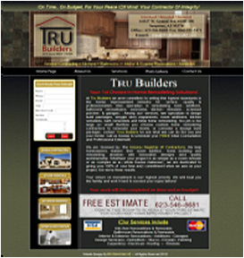 TRU Builders Website